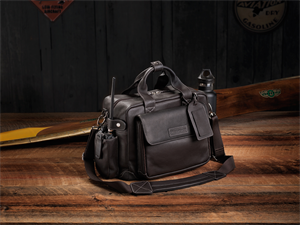 "Leather Flight Bag ""The Markham"""