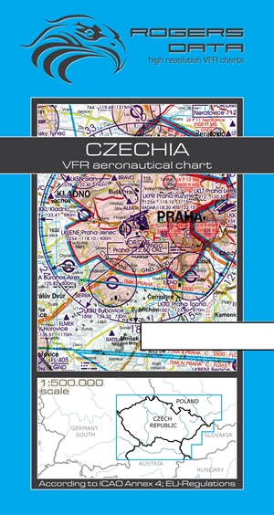 Rogers Data - Czechia VFR Chart