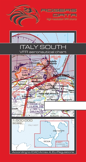 Rogers Data - Italy South VFR Chart