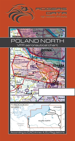Rogers Data - Poland North VFR Chart