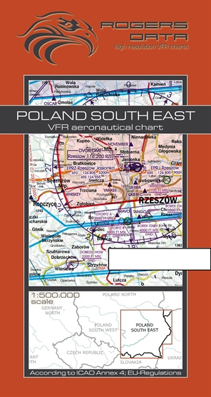 Rogers Data - Poland South East VFR Chart