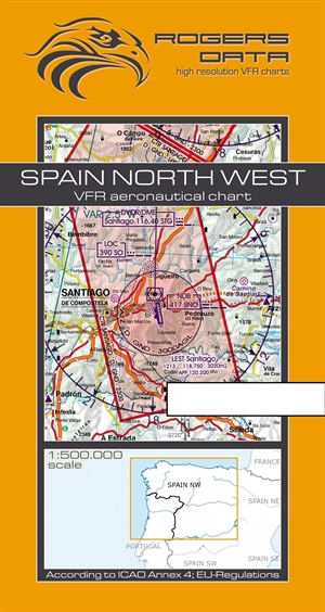 Rogers Data - Spain North West VFR Chart