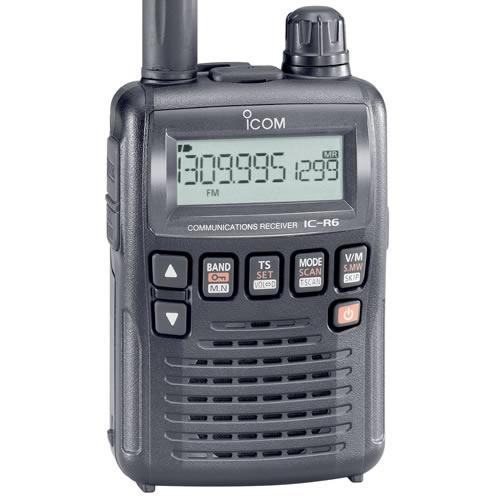 Icom IC-R6 Wideband Receiver
